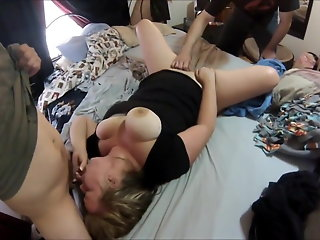 blonde bbw blonde slut birthday cum