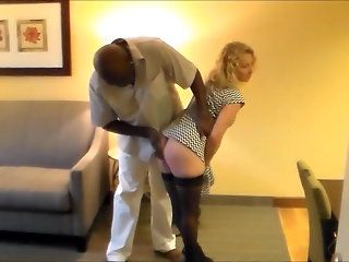 blonde attractive blonde cuckold wife