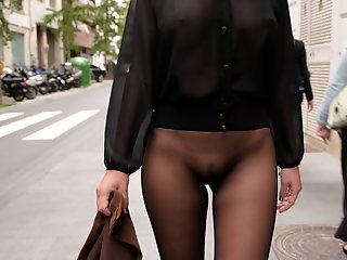 seamless skirt seamless pantyhose public