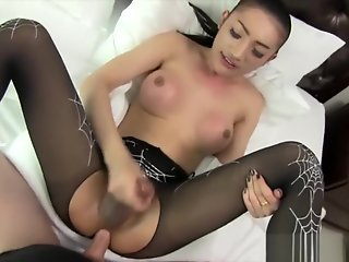 asian sexy asian ladyboy black gets