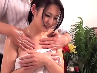 asian oiled asian darling prefers massaged